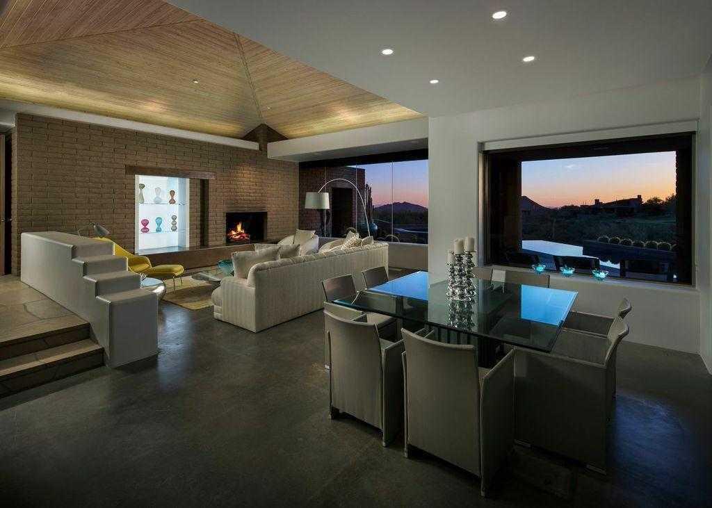 Desert Mountain - Modern - Living Room
