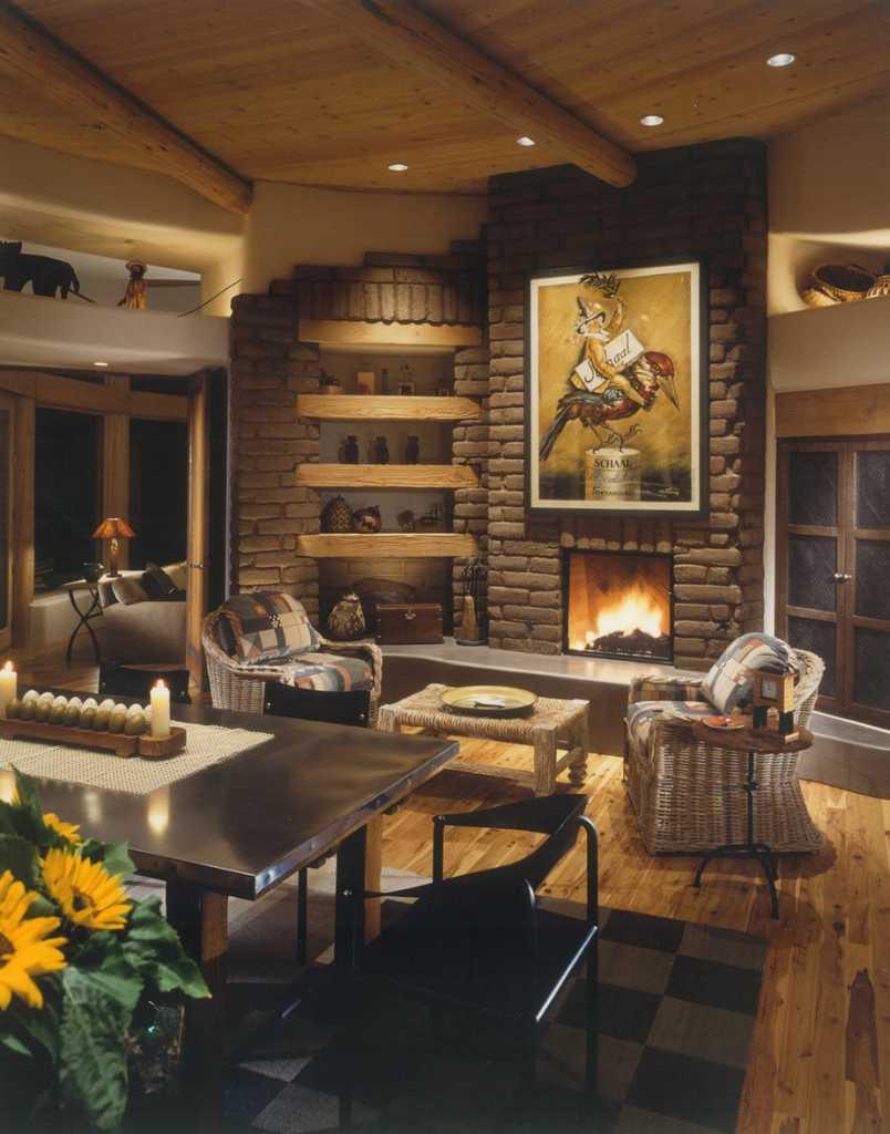 Desert Mountain - Traditional - Living Room