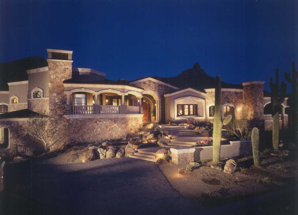 North Scottsdale - Front View Entry
