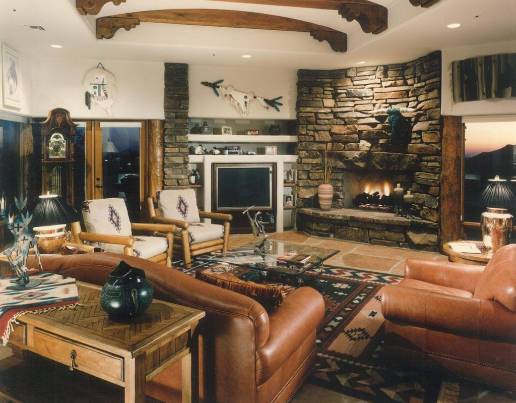 North Scottsdale - Traditional - Living Room