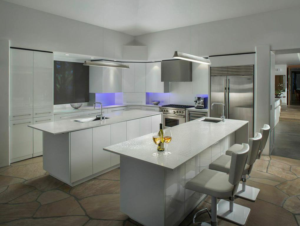 landmark west builders Desert Mountain - Modern - Kitchen