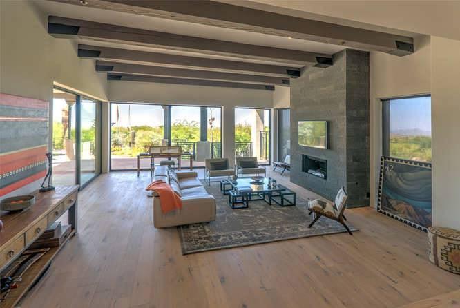Scottsdale Modern - Living Room