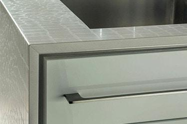 kitchen countertop and drawer